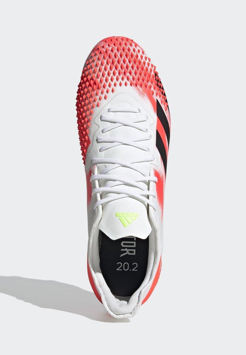 adidas Performance - PREDATOR 20.2 FG - Fotbollsskor fasta dobbar - ftwwht/cblack/pop