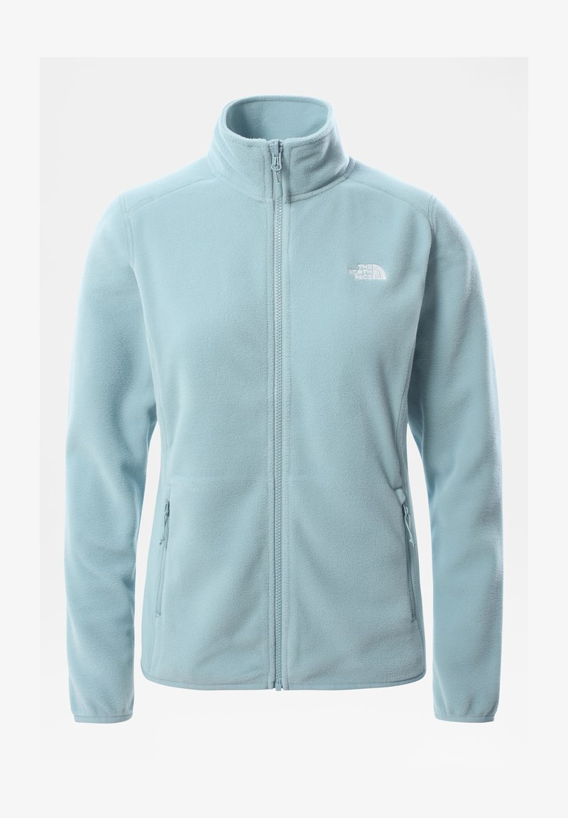 The North Face - GLACIER FULL ZIP - Giacca in pile - tourmaline blue