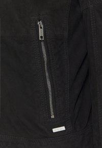 Strellson - OSCO - Leather jacket - black - 8