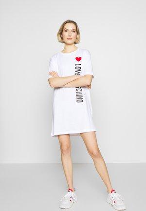 NEW ADDED DRESS SIDE LOGO PLUS SHAPE  - Trikoomekko - optical white