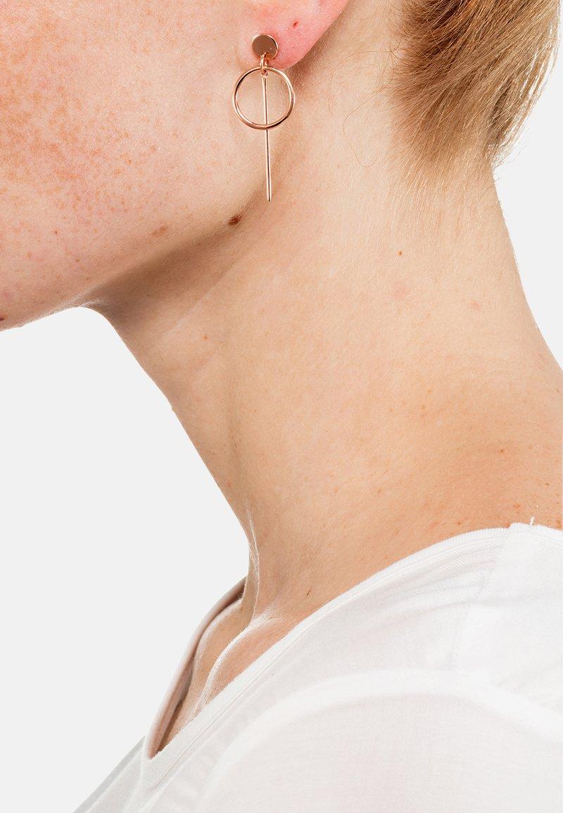 Heideman - LAURENA - Earrings - silberfarben poliert