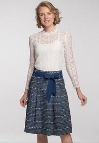 Spieth & Wensky - A-line skirt - dunkelblau - 1