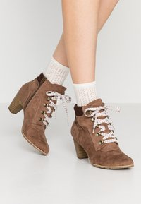 s.Oliver - Ankle boots - pepper - 0