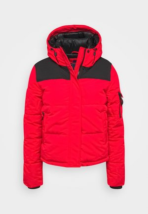 QUILTED EVEREST JACKET - Zimní bunda - high risk red