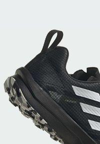 adidas Performance - TERREX SPEED FLOW  - Obuwie do biegania Szlak - black - 7