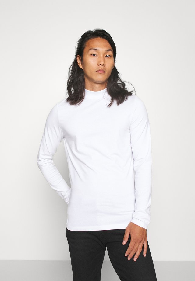 THEO TURTLE NECK  - Camiseta de manga larga - bright white