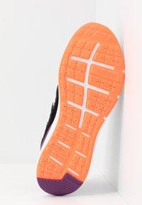 adidas Performance - ENERGYFALCON - Obuwie do biegania treningowe - core black/footwear white/signal coral - 4