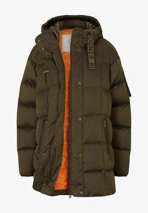 DAUNEN - Down coat - oliv-grün