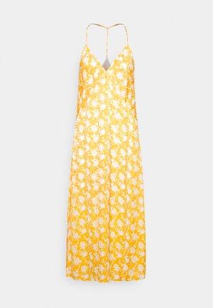 T BACK SLIP DRESS BLACK LABEL - Vestido informal - yellow