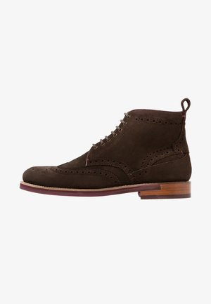SHENNJO - Lace-up ankle boots - brown