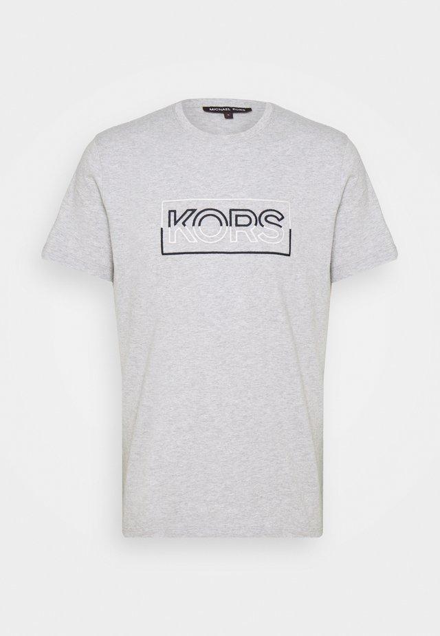 BOX TEE - Print T-shirt - heather grey