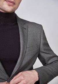 Next - SLIM FIT  - Blazer jacket - mottled grey - 2
