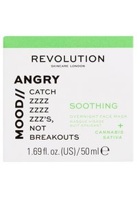 Revolution Skincare - MOOD SOOTHING OVERNIGHT FACE MASK - Nachtpflege - - - 2