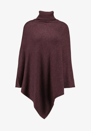 VIRIL ROLLNECK PONCHO  - Cape - winetasting