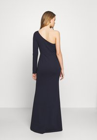 WAL G. - ONE SHOULDER MAXI DRESS - Vestido de fiesta - navy blue - 2