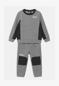 Nike Sportswear - AIR CREW SET - Trainingsanzug - dark grey heather - 0