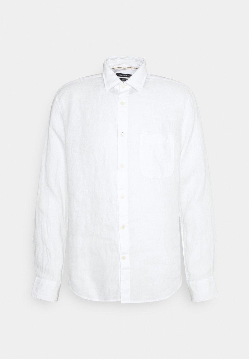 Marc O'Polo - KENT COLLAR LONG SLEEVE INSERTED - Shirt - white