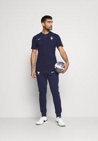 Nike Performance - FRANKREICH FFF PANT - National team wear - blackened blue/white - 1