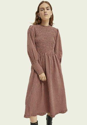 SEERSUCKER - Day dress - combo n