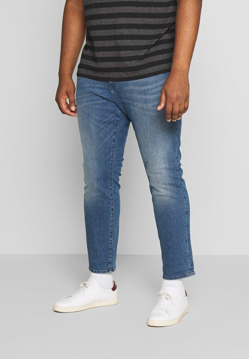 TOM TAILOR MEN PLUS - Slim fit jeans - light stone