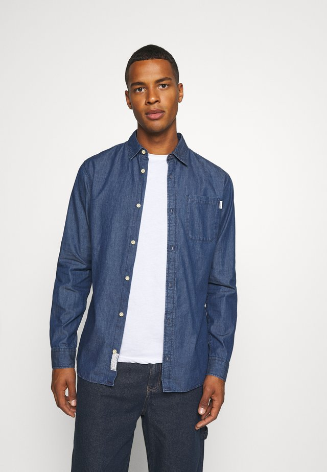 JJTED  - Shirt - dark blue denim