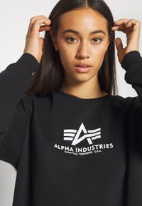 Alpha Industries - BASIC LONG - Day dress - black - 7