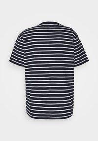 GAP - Print T-shirt - navy stripe - 1