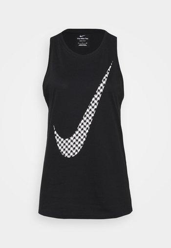 TANK ICON CLASH - Top - black/white