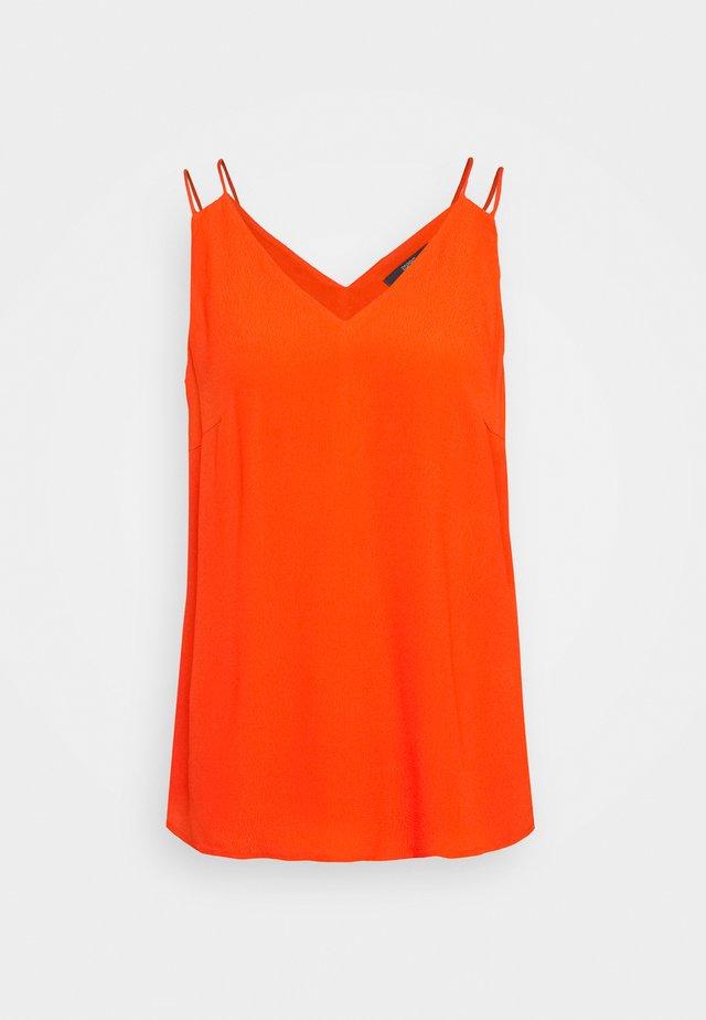 Top - red orange