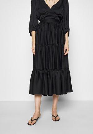 SKIRT ELIZE - A-line skirt - black