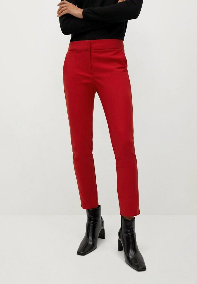 COFI7-N - Pantalon classique - rouge