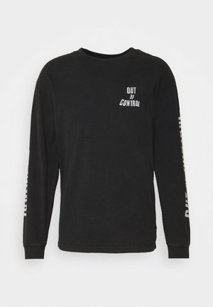 STRUMMER - Long sleeved top - black