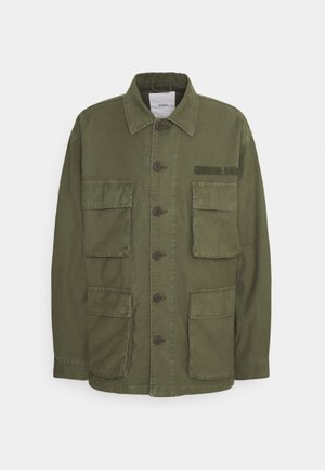 FIELD JACKET - Summer jacket - grey fir