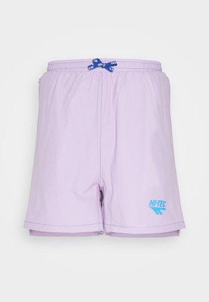 HAHN SHORTS - Krótkie spodenki sportowe - purple