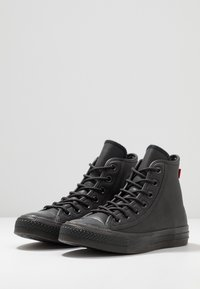 Converse - CHUCK TAYLOR ALL STAR - Höga sneakers - almost black - 2