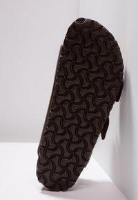 Birkenstock - MILANO - Sandały - dark brown - 5