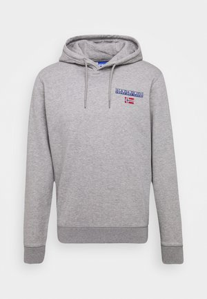 ICE - Kapuzenpullover - medium grey melange