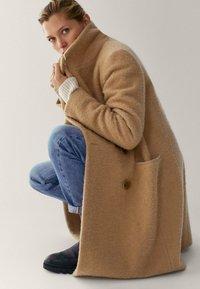 Massimo Dutti - Winterjas - beige - 5