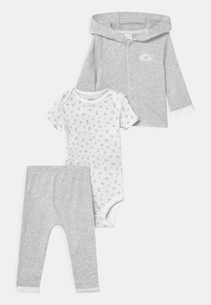 SET UNISEX - Printtipaita - mottled grey