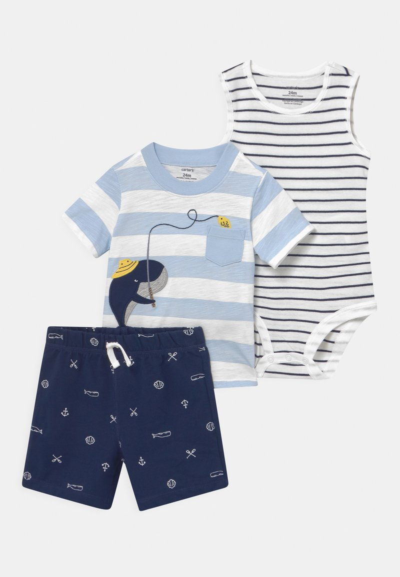 Carter's - WHALE FISHING SET - Top - blue