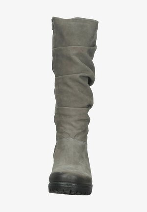 Over-the-knee boots - grey