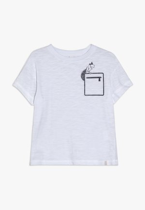 T-SHIRT SS - T-shirt con stampa - white