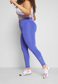 Nike Performance - ONE PLUS  - Tights - sapphire/white - 0