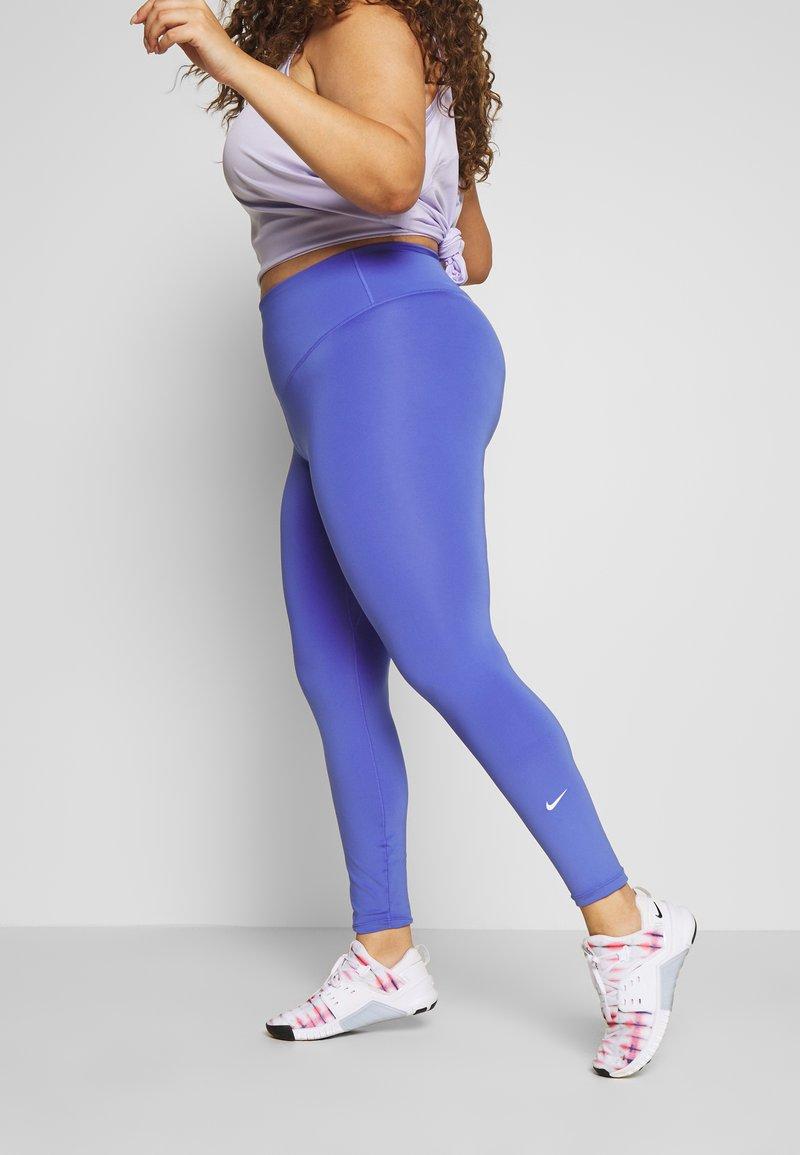 Nike Performance - ONE PLUS  - Tights - sapphire/white