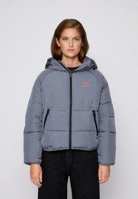 Calvin Klein Jeans - BIG LOGO PUFFER - Winter jacket - shining armor - 0