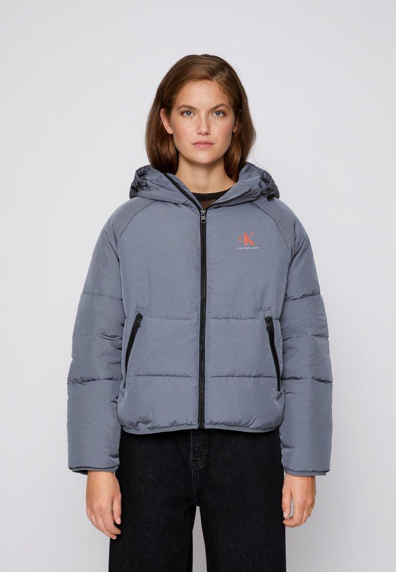 Calvin Klein Jeans - BIG LOGO PUFFER - Winter jacket - shining armor