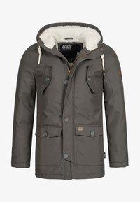 INDICODE JEANS - Winter coat - gray - 7