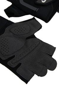 Nike Performance - MEN´S EXTREME FITNESS GLOVES - Fingerless gloves - black/anthracite/white - 4