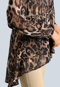 Alba Moda - Button-down blouse - marineblau beige - 2