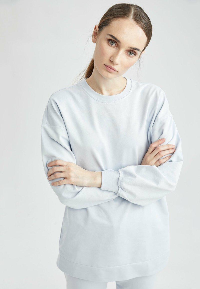 DeFacto - Sweatshirt - blue